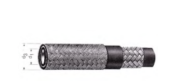 Low pressure hose 1TEM EN 854